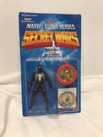 Vintage 1984 Mattel Marvel Secret Wars Black Spider-Man  Sealed CLEAR BUBBLE