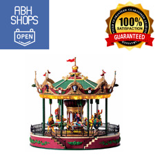 Lemax Christmas Village Building Jungle Carousel Figure Indoor Decor Top Quality