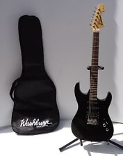 Electric Guitar Washburn X-Series  Black with stand