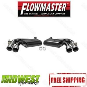 "Flowmaster American Thunder® 3"" Axle-Back Dual Exhaust 16-17 Chevy Camaro SS 6.2"
