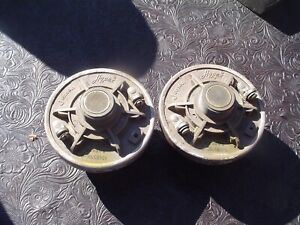 2 - Jensen Hypex Comression Projector Horn Drivers Speakers 1 Good 1 Scratchy