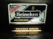 Vtg Heineken Beer Cash Register Topper Light Bar Room Sign Man Cave Windmill