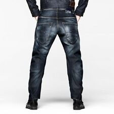 G-Star Raw Jeans W-31 L-32 Arc Loose Tapered Trawis Wash Made in Italy $210 new