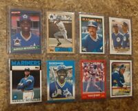 (8) Harold Reynolds 1986 1987 Donruss Topps Fleer Rookie 2nd + card lot RC 1988