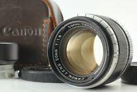 [Near MINT w/ Hood ] CANON 50mm F/1.8 Leica LTM L39 Late Model from Japan
