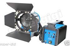 Upgrade1200W 1.2K HMI Fresnel Light Ballast Bulb Aluminum Case Lamp AS kit