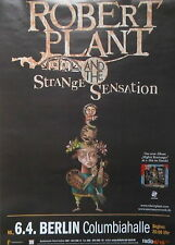 "ROBERT PLANT (Led Zeppelin) ""Mighty Rearranger"" Tour Poster BERLIN 06.04.2005"