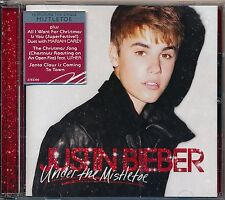 Under the Mistletoe - Justin Bieber cd like new
