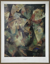 Kurt Schwitters Vintage Original the Spring Picture Offset Art Print