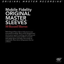 MOBILE FIDELITY ANTI STATIC LP RECORD SLEEVES | PACK OF 25 SLEEVES