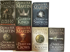 GAME OF THRONES SEVEN BOOK SET,GEORGE R.R. MARTIN