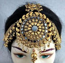 Tribal Kuchi Banjara Head Piece Tika Jewelry Belly Dance TIARA Maang Boho Gypsy