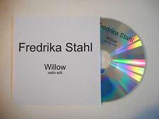 FREDRIKA STAHL : WILLOW ( RADIO EDIT ) ♦ CD SINGLE PORT GRATUIT ♦