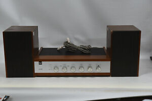 Dual CV12 A Amplifier with CL7 Speakers - Vintage Mini HiFi Stereo System CV 12