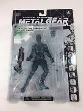 Metal Gear Solid CLEAR NINJA Action Figure 1998 Sealed Mcfarlane Toys Konami