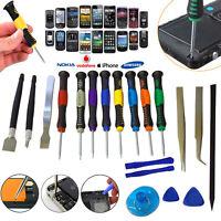 Mobile Phone 20 in 1 Repair Tool Kit Screwdriver Set iPhone iPod iPad Samsung UK