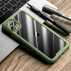Shockproof Clear Bumper Case For iPhone 13 Pro Max 11 12 XR XS 8 7 Plus SE Cover