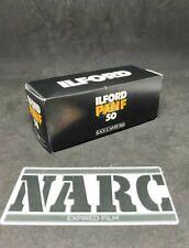 Ilford PAN F PLUS 50 expired film 120 Film B&W
