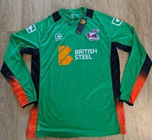 Scunthorpe United FC 2016/17 Goalkeeper Shirt BNWT Carbrini Large Green Football