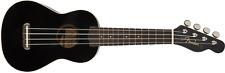 Fender Venice Soprano Ukulele - BLACK NEW IN BOX