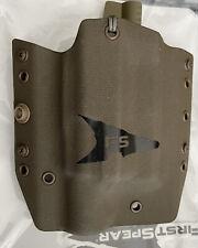 """First Spear Glock Ssvâ""""¢ Pistol Holster for Glock 19/23 Rh w/light Ranger Green"""