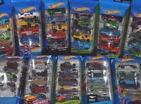 Hot Wheels 5 Car Packs BNIB - Choose from Various Mustang, Nitrobot, Racers etc