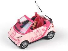 """BUSCH Smart 99056 HO (1/87e): Fortwo Cabrio """"Baby an Bord"""" (meisje, roze)"""