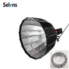 Selens 90cm Parabolic Softbox Umbrella Reflector fr Flash Speedlite Bowens Mount
