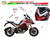 """Kit adesivi Design Dolomites' Peak Moto Ducati Multistrada 1200 DVT """"V302"""""""