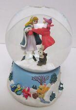 DISNEY Aurora Sleeping Beauty Water Snowglobe Mini Musical Enesco