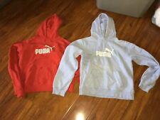 Puma Soccer Women's Logo Pullover Hoodies Lot Medium