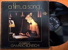 DISCO LP A FILM... A SONG - UN ORGANO E GIAMPIERO BONESCHI - DURIUM CICALA 69 NM