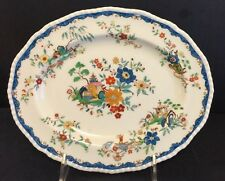 Antique Royal Doulton Small Platter Asian Hand Painted Great Color Mint