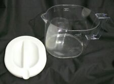 Mr Coffee Ice Maker 1-1/2 Qt Tm4 Pitcher Pot Jug Lid Only Replacement Part White