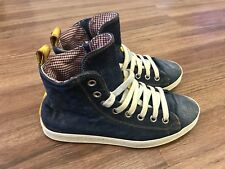 100% AUTHENTIC DSQUARED JEANS HIGH SNEAKER SCHUHE SHOES 40 39 MOST WANTED RAR
