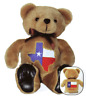 "TEXAS HONOR BEAR WITH FLAG FRONT & BACK, 8"" TALL"