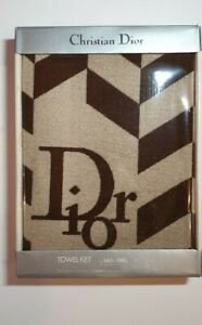 Christian Dior Towel Ket/ Beach Towel/ Bath Towel 140x190 cm 100% Cotton