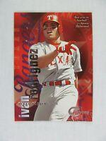 Ivan Rodriguez Texas Rangers 1996 Fleer Skybox Baseball Card 92
