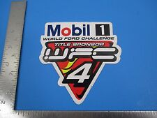 "Mobil 1 World Ford Challenge Sponsor Advert Promo Sticker/Decal  4"" x 4""  S3687"