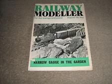 RAILWAY MODELLER BOOKLET-DATED AUGUST 1975-NARROW GAUGE IN THE GARDEN