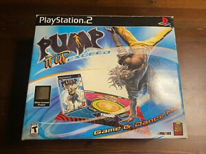 Pump It Up Exceed Game And Dance Mat for PlayStation 2 in original box
