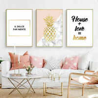 Motivational Posters Wall Canvas Pictures For Living Room Home Bedroom Paintings