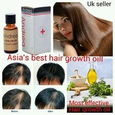Most Effective Andrea-asia's No1 Hair Growth Serum Oil 100 Natural Extract UK