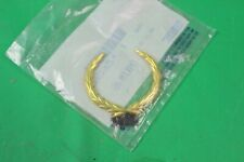 NEW GENUINE GM ROOF SIDE EMBLEM GOLD 85-93 CADILLAC DEVILLE FLEETWOOD 25615638