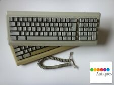 Apple Keyboard and Cable for Macintosh 128k 512k Mac Plus RARE Vintage M0110A