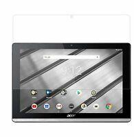 2x Klarsichtoflie für Acer Iconia One Tab 10 B3-A50 Schutzfolie Displayfolie