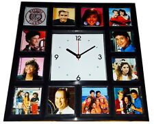 Saved By The Bell Zack Kelly Slater Screech Lisa Jessie Clock with 12 pictures