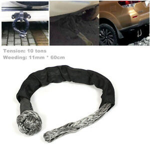 Car ATV UTV Off-Road Towbar Connecting Rope Winch Pull Line Cable Towing 10 tons