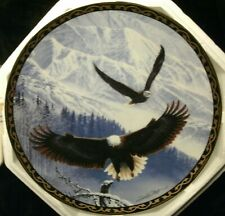 "Hamilton ""Winter's Majestic Flight"" Collector Plate-John Pitcher-Free Shipping"