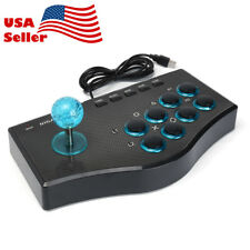 US! USB Wired Arcade Fighting Stick Fighter Joystick Game Controller For PC PS3